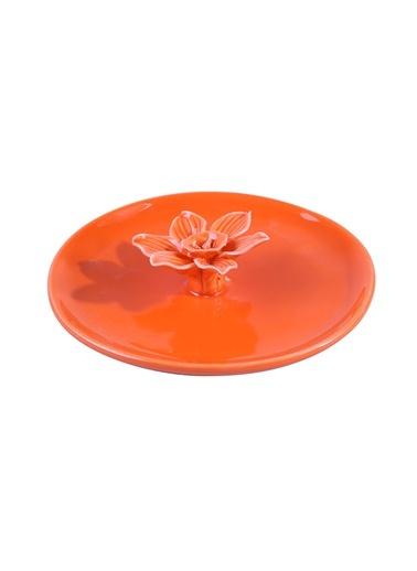 Orange Flower Dekoratif Obje-Dekorazon